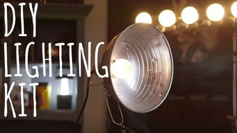 Budget DIY Pro Lighting for Professional Videos