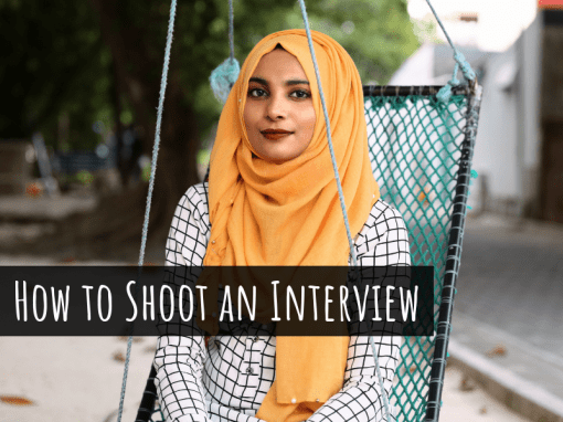 How to Shoot a Video Interview