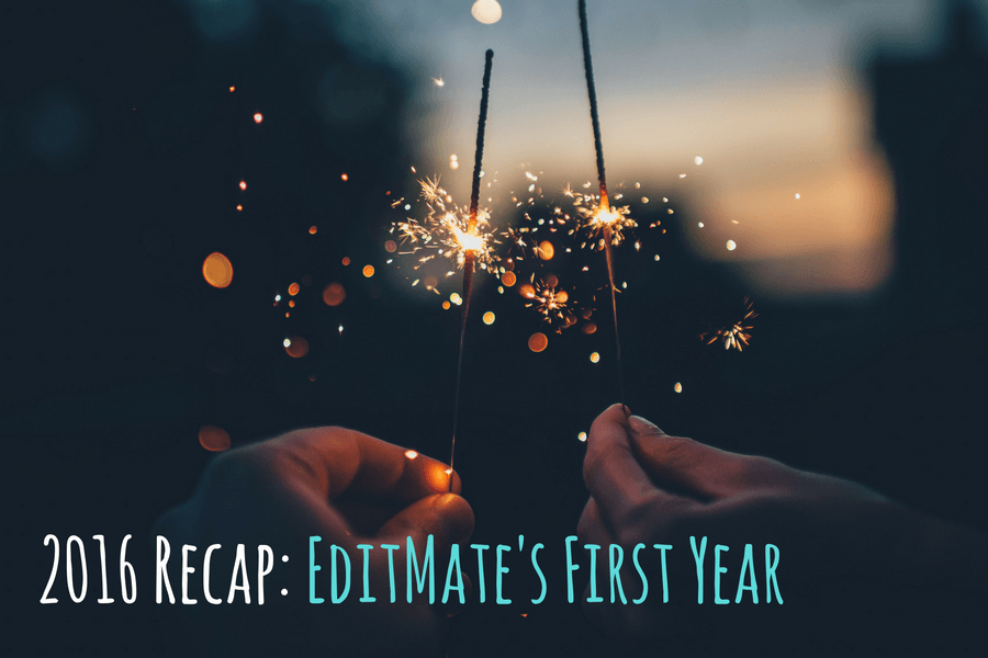 2016 Recap: EditMate's First Year