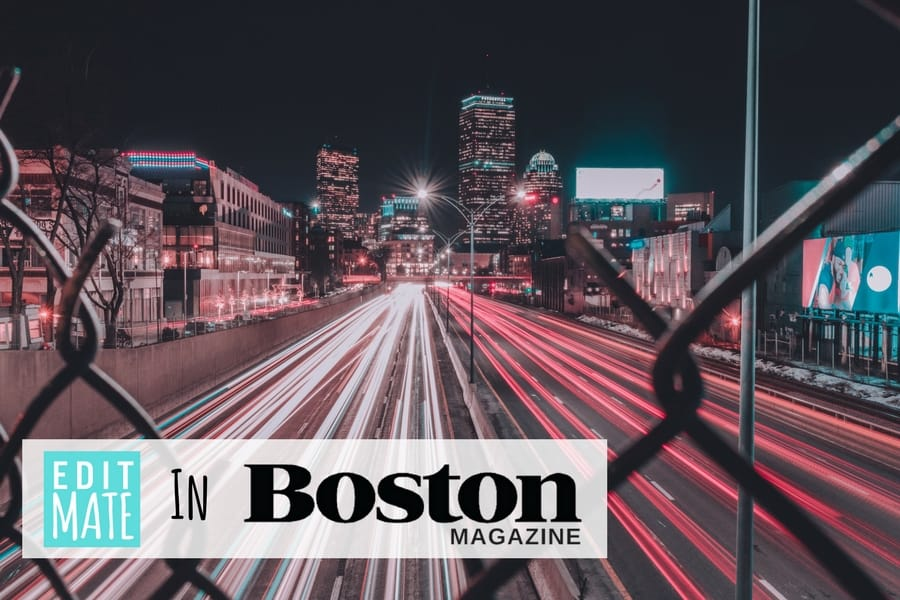 EditMate in Boston Magazine