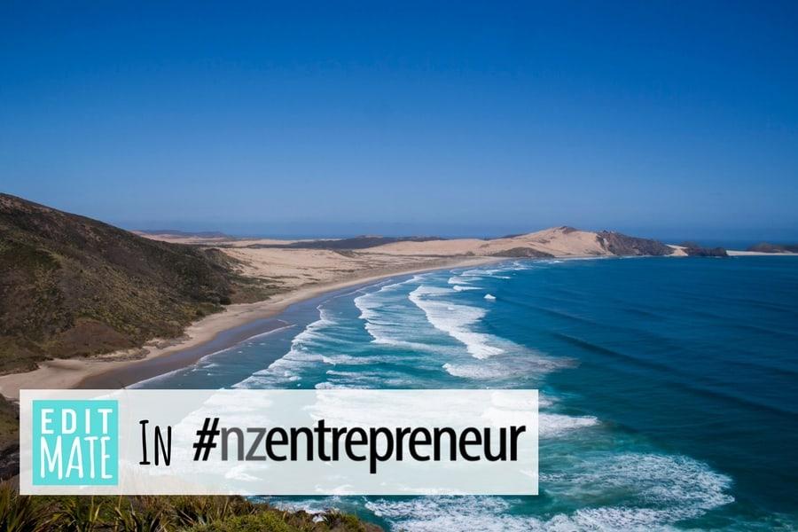 EditMate in #nzentrepreneur