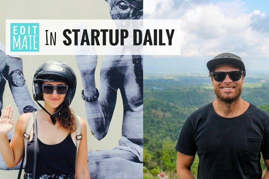 EditMate in Start Up Daily