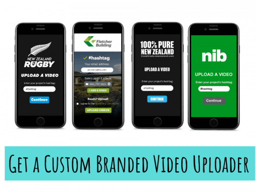 Custom Branded Video Uploader