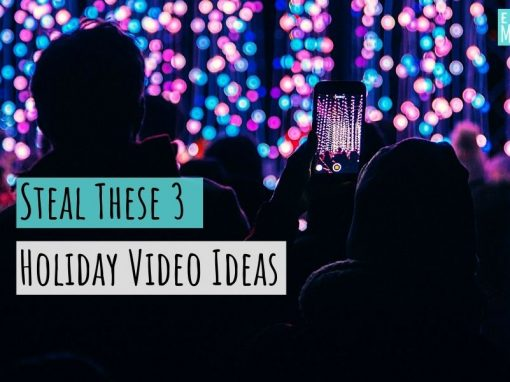 Steal These 3 Holiday Video Ideas