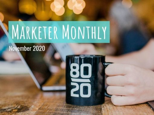Marketer Monthly: November 2020